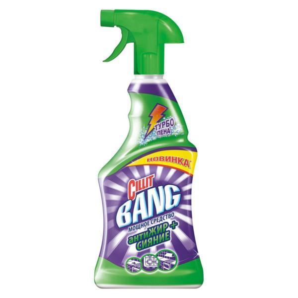 CIllit Bang чистящее средство для кухни антиЖИР+СИЯНИЕ (спрей), 750 мл