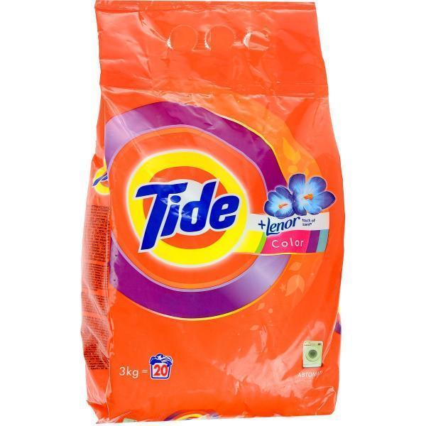 """Стиральный порошок Tide """"Lenor Touch of Scent. Color"""", автомат, 3 кг"""