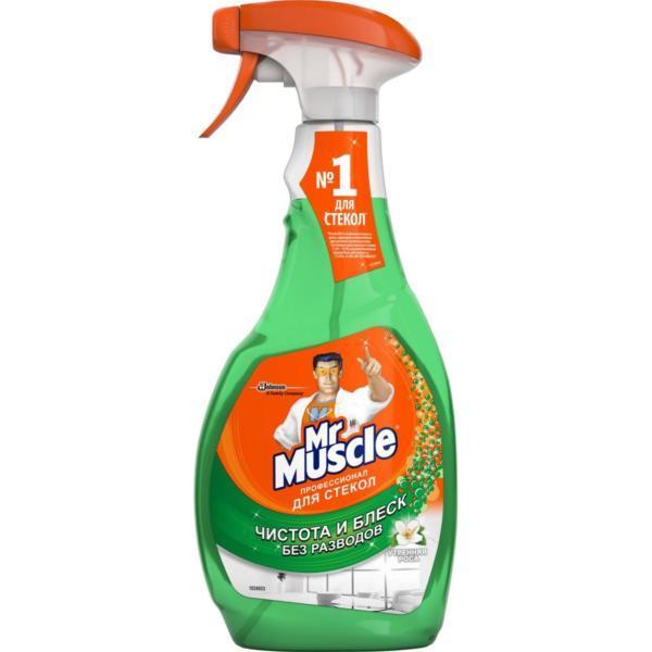 """Чистящее средство для стекол """"Мистер Мускул"""", с нашатырным спиртом, 500 мл"""