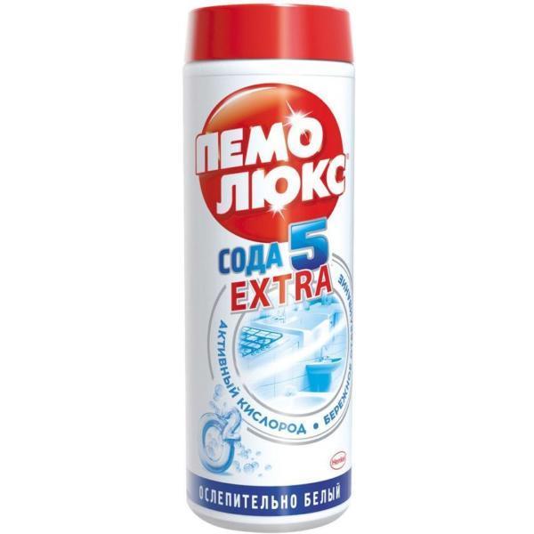 Чистящее средство Пемолюкс Сода 5 Экстра Ослепительно белый 480г