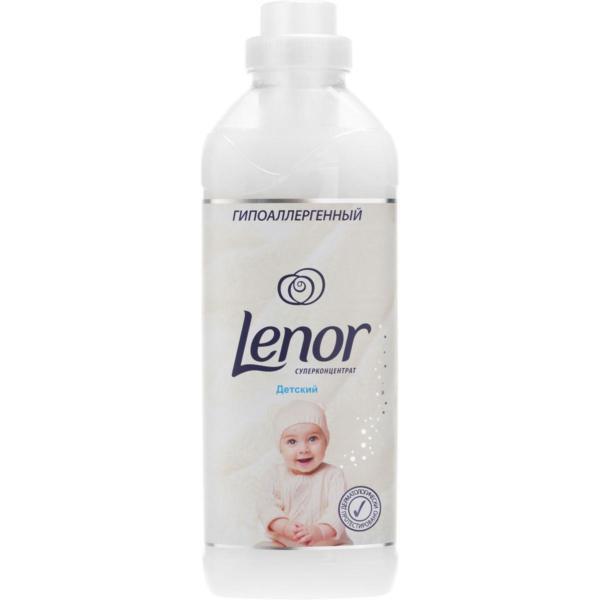 """Кондиционер для белья """"Lenor"""" для чувствительной и детской кожи, концентрированный, 1 л"""