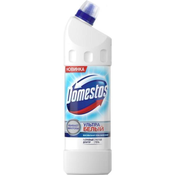 """Domestos Чистящее средство для унитаза """"Эксперт сила 7. Ультра белый"""", 1 л"""