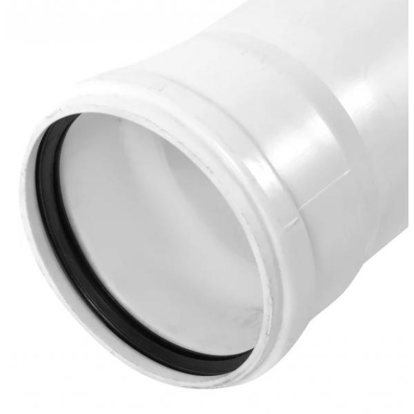 Труба канализационная c шумопоглощением D 50 мм L 2м полипропилен