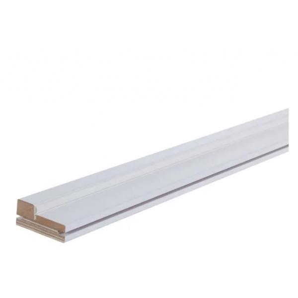 Комплект дверной коробки 2070х70х30 мм цвет белый
