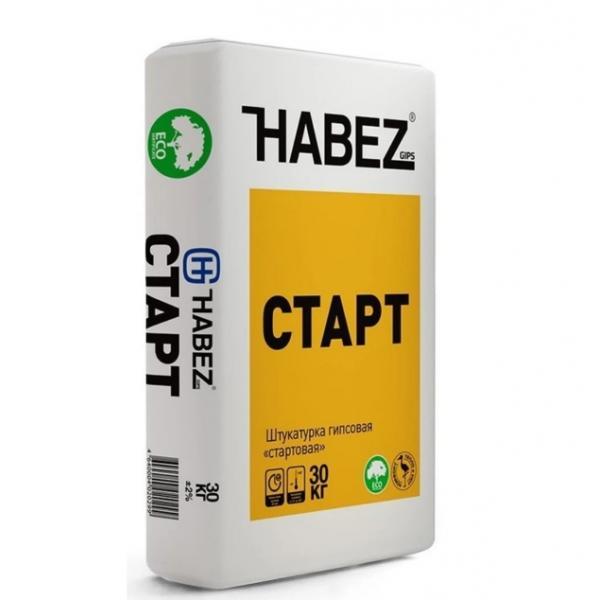 Штукатурка гипсовая Habez Старт, 30 кг