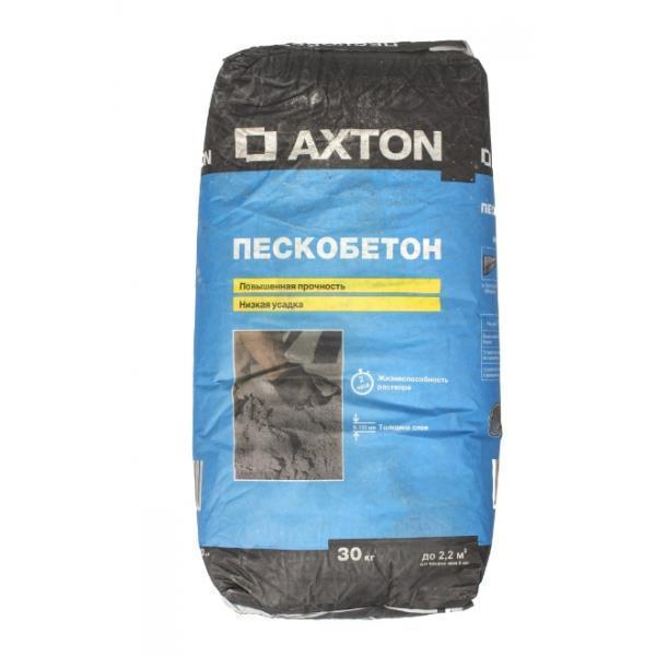 Пескобетон М300 Axton, 30 кг